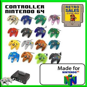 Funtastic Nintendo 64 N64 Controller Gamepad Transparent Control Joystick New
