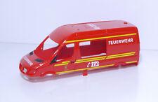 1:87 EM3322 Herpa Feuerwehr Sprinter Karosse rot für Eigenbau / Umbau