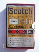 Scotch C - 60 Audo Cassette Tape VINTAGE 60 Minutes **BRAND NEW** 3M