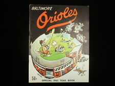 1961 Baltimore Orioles Yearbook