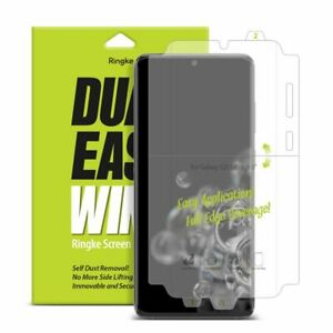 Ringke Dual Easy Wing Wrap Around Screen Protector for Samsung Galaxy S20 Ultra