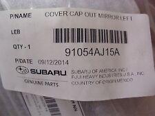 Genuine OEM Subaru Legacy & Outback LH Mirror Cover 2012-2014 (91054AJ15A)