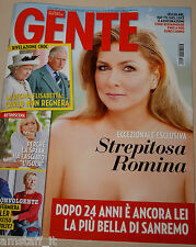 GENTE 2015/6=ROMINA POWER=IL VOLO=LORENZO FRAGOLA=CHIARA GAGLIAZZO=EMMA=ARISA=