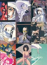 """GHOST"" COMPLETE 72 BASE CARD SET BY DARK HORSE (COMIC IMAGES 1997)"
