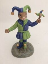 More details for royal doulton bunnykins the fair jester colourway db 517 new and boxed ltd ed
