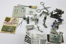 VINTAGE SINGER ATTACHMENTS and ACCESSORIES lot of 14 plus