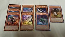 Yugioh Kozmo Deck 45 Cards Dark Planet Tincan Farmgirl Strawman Free Booster