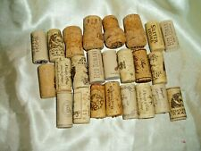 """LOT OF 24 """"CRUISE"""" and """"WEDDING""""  Wine, Champagne and more   CORKS Variety LOT !"""