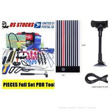 110 Pdr Led Board Pdr Paintless Dent Repair Kit Pdr Hail Dent Puller Rods Kits