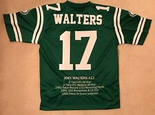Saskatchewan Roughriders Joey Walters #17 Jersey NEW with tags Career Stats  CFL