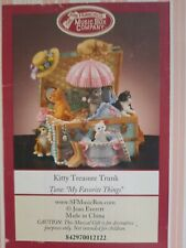 San Francisco music Box company kitten treasure trunkSan Francisco music Box.