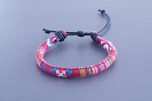 Fußband Made by Nami Fußkettchen Fußbändchen Boho Hippie verstellbar - HANDMADE