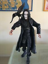 "THE CROW 50CM 2004 NECA REEL TOYS BRANDON LEE ERIC DRAVEN 18"" ACTION FIGURE"