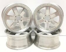 Vintage Aluminum RC Rims Hobby Grade Set Of 4