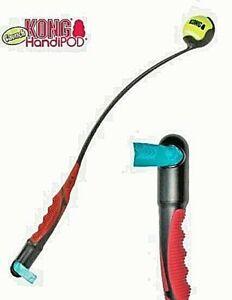 KONG HandiPOD Launch Dog Tennis Ball Launcher (wo) Man Size Thrower 72cm /Refill