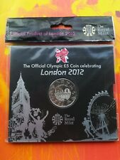 LONDON OLYMPIC £5 COIN NEW SEALED MINT