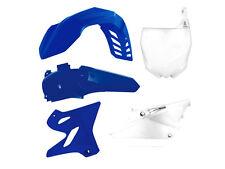 YAMAHA YZ 125 250 15-16 PLASTIKIT KIT PLASTIK KUNSTOFFTEILE AIRBOX BLAU RESTYLE