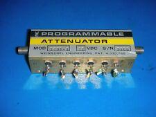 Weinshel Programmable Attenuator Model: 3201-1 12 VDC