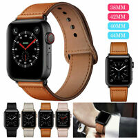 Leder Armband Watch Band für Apple Watch Series 5 4 3 2 1 Bands 40/44mm 38/42mm