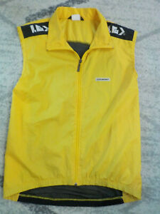 ( Large ) Mens Louis Garneau Cycling Vest Mesh Back Full Zip Super Lightweight