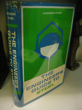 The ENGINEER'S GUIDE TO STEEL Hanson-Parr 1st Edition 1965 Addison-Wesley HC/DJ