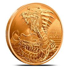 1 oz Copper Round - Egyptian Dragon