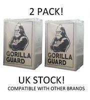 "Gorilla Guard Hard Stacks Funko Pop Protector Interlocking Lids | 2 Pack of 4"""