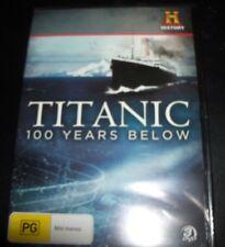 Titanic 100 Years Below History Channel 3 DVD (Australia Region 4) DVD - NEW