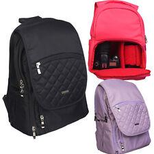 Professional Waterpoof DSLR Camera Backpack Laptop Bag Padded Daypack Rucksack N