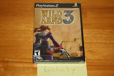 Wild Arms 3 (PS2 Playstation 2) NEW SEALED BLACK LABEL W/UPC, MINT & RARE!