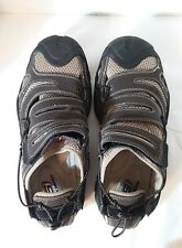 Skechers Brown Leather and Synthetic Hiking Walking Sports Sandals Mens 10