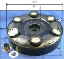 Ocean Mist Floating Pond Light Ring w/ multi-color 6x60 (360) LEDs-for fountains