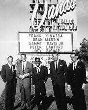 FAMOUS RAT PACK Frank Sinatra Dean Martin Lawford Sammy Davis 8x10 Photo Poster