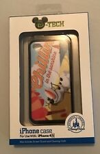 Disney Parks iPhone 4 4S Case Frozen Olaf Chillin In The Sunshine NEW