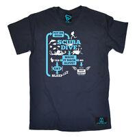 Scuba Diving T-Shirt Funny Novelty Mens tee TShirt - Make It Back Alive