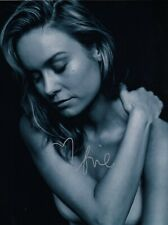 Brie Larson Signed  8x10 auto photo in Excellent Condition
