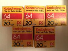 Kodachrome 64 Exp. 02/86 - Kept in Freezer