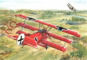 Picture Postcard:;FOKKER D.R.1, TONY THEOBALD