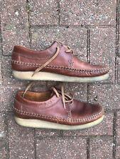 Clark's Weaver Brown Leather (UK 10)