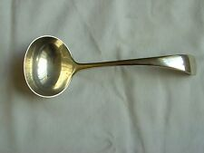 Vintage Daniel & Arter Indian Silver Ladle Length 7""