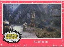 Star Wars JTTFA Neon Parallel Base Card #51 A Jedi to be