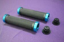 Mountain bike parts Bicycle handlebar E-bike rubber grip handlebar bushings Blue