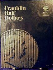 Whitman Franklin Half Dollars 1948-1963 Coin Folder, Album Book #9032