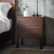 Frank Hudson Boho Retreat 2 Drawer Bedside Table / Chest of Drawers Bsf20