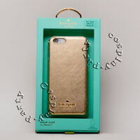 Kate Spade New York Wrap Case For iPhone 6 iPhone 6S Gold Saffiano Leather