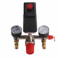 Regulator Air Compressor Pump Pressure Control Switch Valve Gauge Heavy Duty