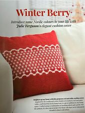 KNITTING PATTERN Fair Isle Cushion Cover Nordic Design Home King Cole PATTERN
