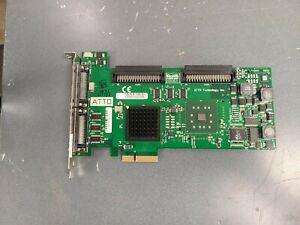 ATTO ExpressPCI ul5d Ultra 320 ADS SCSI Host Adapter for Mac, Win, Linux etc.