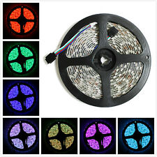 2pc 5M 16.4ft 12v SMD RGB 5050 IP65 Waterproof 300 LED Flexible Tape Strip Light