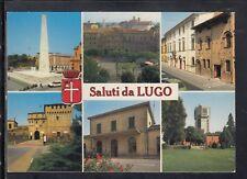 Cartolina Saluti da Lugo VEDUTINE HF237